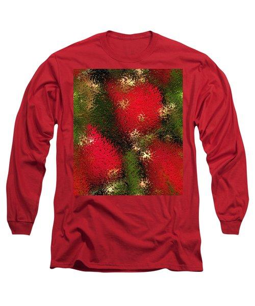 Strawberries Behind  The Glass Long Sleeve T-Shirt by Maciek Froncisz