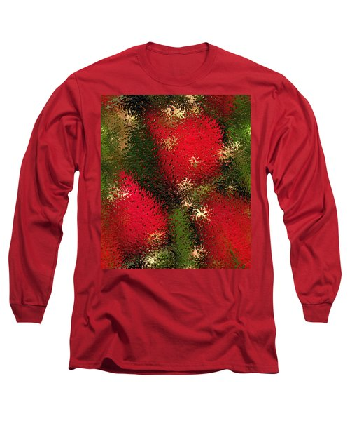 Strawberries Behind  The Glass Long Sleeve T-Shirt