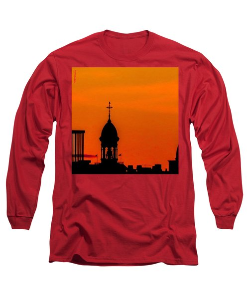 #throwbackthursday #fire In The #sky Long Sleeve T-Shirt