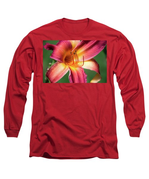 Tiger Lily Close Up Long Sleeve T-Shirt