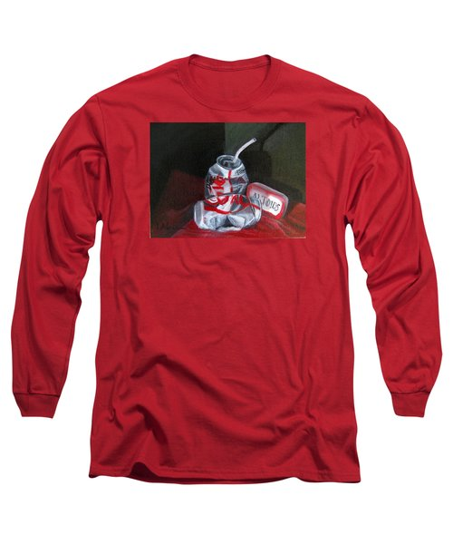 Tin Cans Long Sleeve T-Shirt by LaVonne Hand