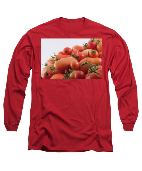Long Sleeve T-Shirt featuring the photograph Tomato Hill by James BO Insogna