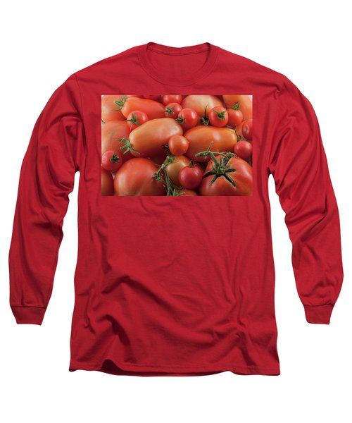 Long Sleeve T-Shirt featuring the photograph Tomato Mix by James BO Insogna