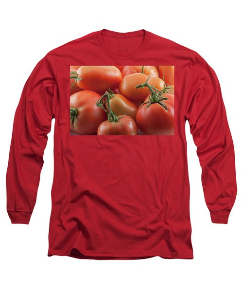 Long Sleeve T-Shirt featuring the photograph Tomato Stems by James BO Insogna