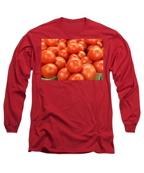 Tomatoes 247 Long Sleeve T-Shirt by Michael Fryd