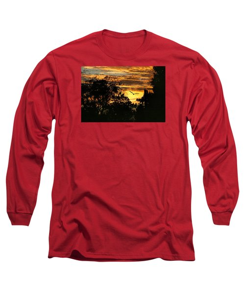 Long Sleeve T-Shirt featuring the photograph Tomorrow Land by Joan Bertucci