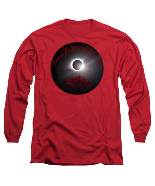 Total Eclipse T Shirt Art  Long Sleeve T-Shirt