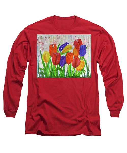 Totally Tulips Long Sleeve T-Shirt