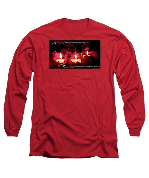 Touch My Soul Long Sleeve T-Shirt by David Norman