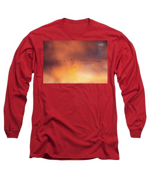 Towards The Sun Long Sleeve T-Shirt