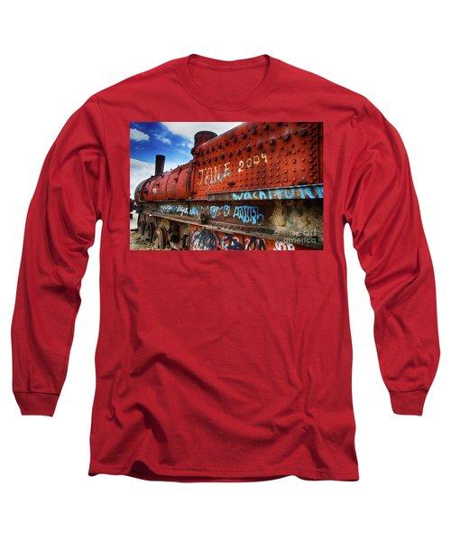 Train Graveyard Uyuni Bolivia 17 Long Sleeve T-Shirt