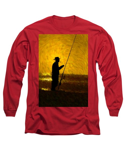 Tranquility Long Sleeve T-Shirt by Paul Wear