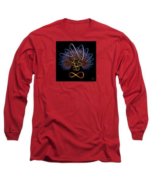 Transinfinity - A Fractal Artifact Long Sleeve T-Shirt