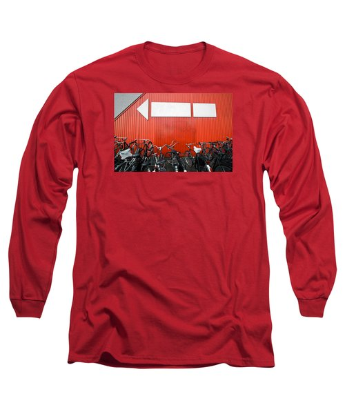 Transportation And Direction Long Sleeve T-Shirt