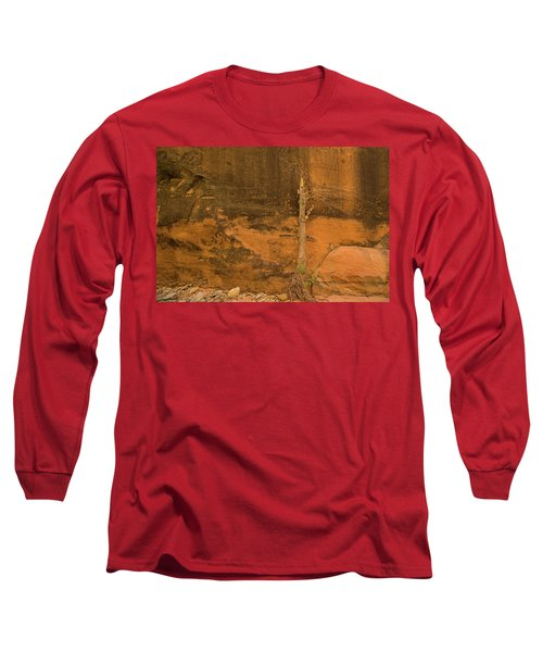 Tree And Sandstone Long Sleeve T-Shirt