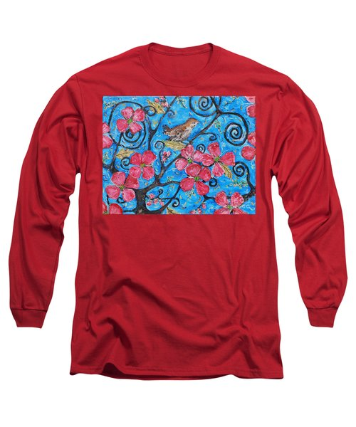 Tree Of Life Long Sleeve T-Shirt by Reina Resto