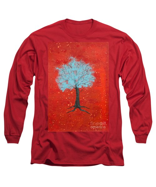 Nuclear Winter Long Sleeve T-Shirt by Stefanie Forck