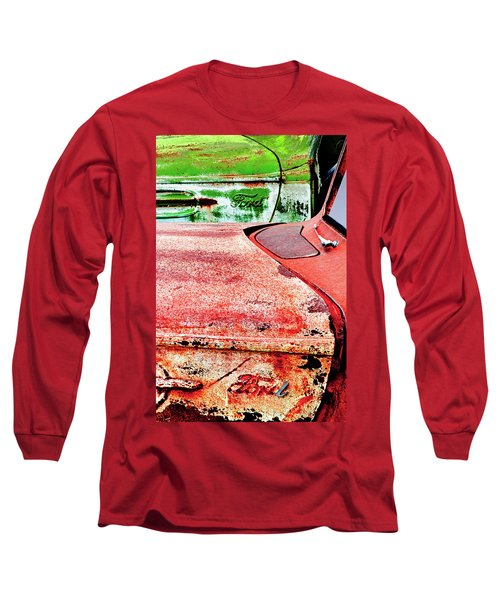 Tree Ornaments Long Sleeve T-Shirt by Jeffrey Jensen
