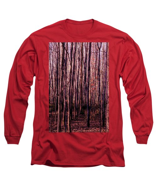 Treez Red Long Sleeve T-Shirt
