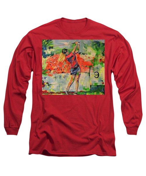 Treibschlag Vom 9 Tee  Drive From The 9th Tee Long Sleeve T-Shirt