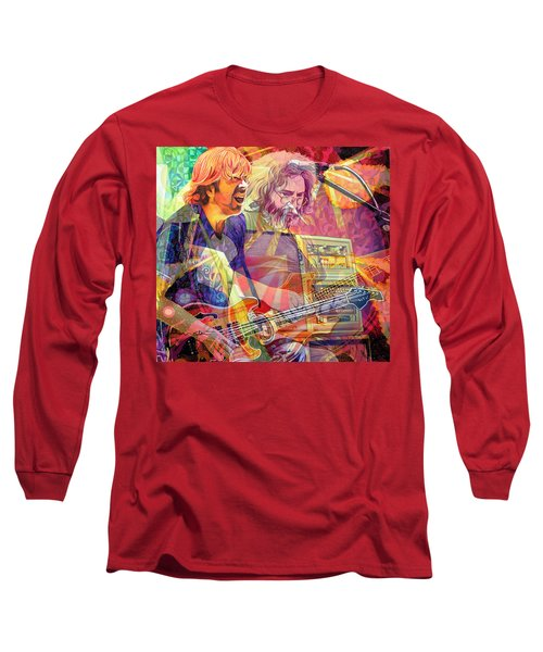 Trey Channeling Cosmic Jerry Long Sleeve T-Shirt