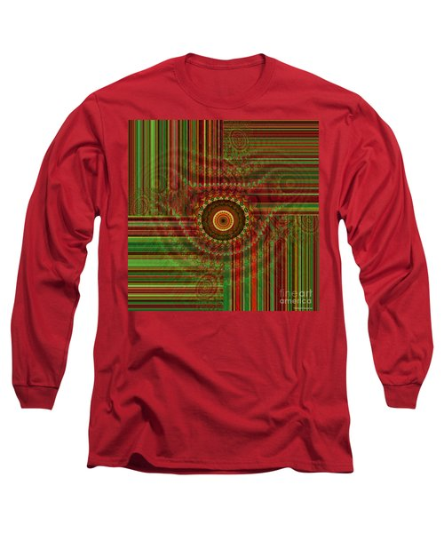 Tribal Drape Long Sleeve T-Shirt