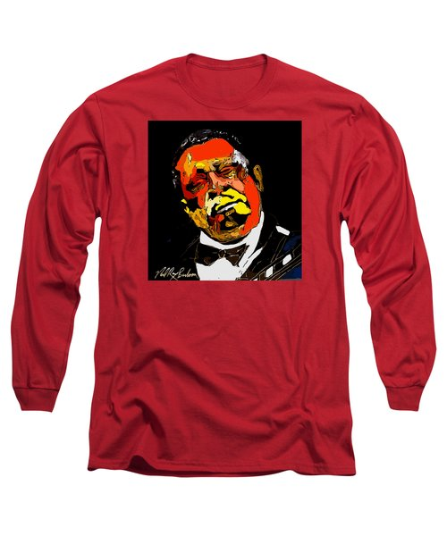 tribute to BB King reworked Long Sleeve T-Shirt