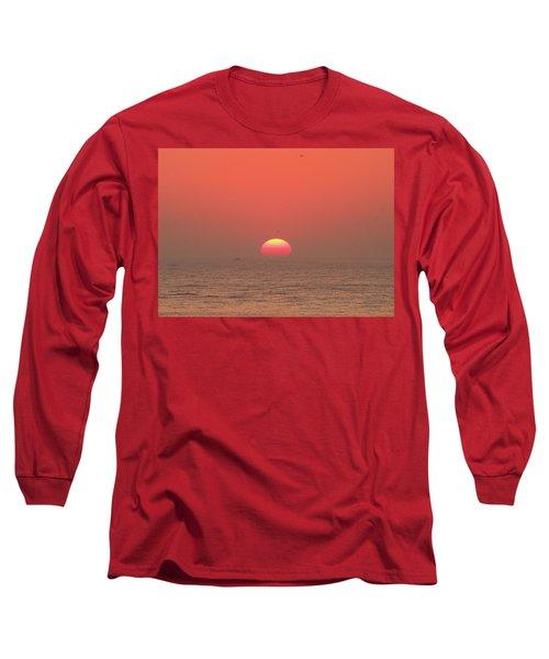 Tricolor Sunrise Long Sleeve T-Shirt