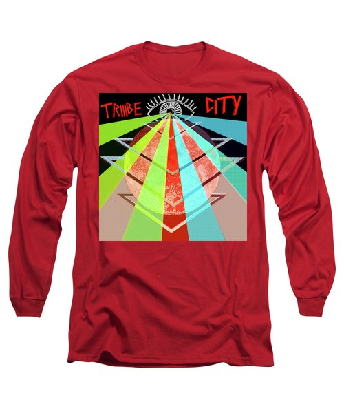 Triiibe City For Bxdizzy419 Long Sleeve T-Shirt