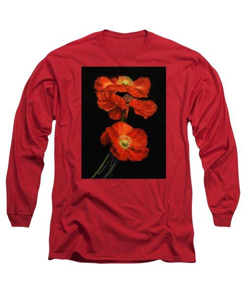 Poppy Trio Long Sleeve T-Shirt