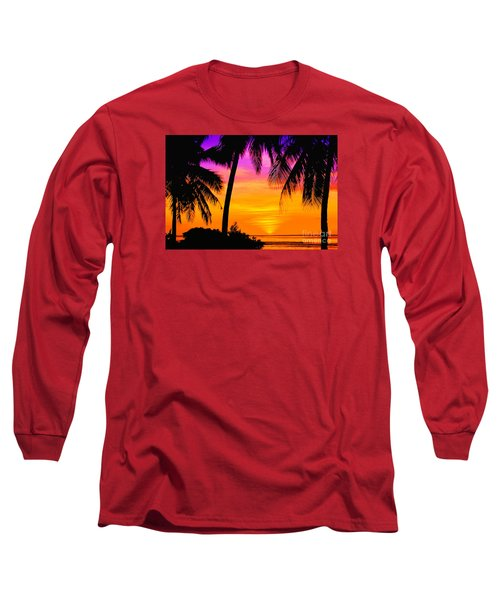 Tropical Delight Long Sleeve T-Shirt by Scott Cameron
