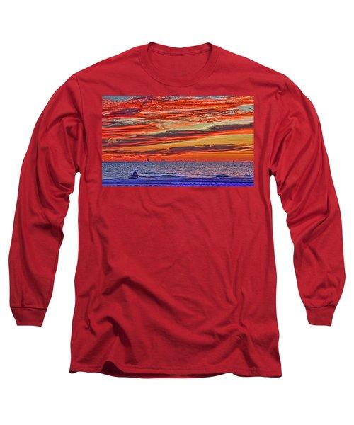 Tropical Gulf Nights Long Sleeve T-Shirt