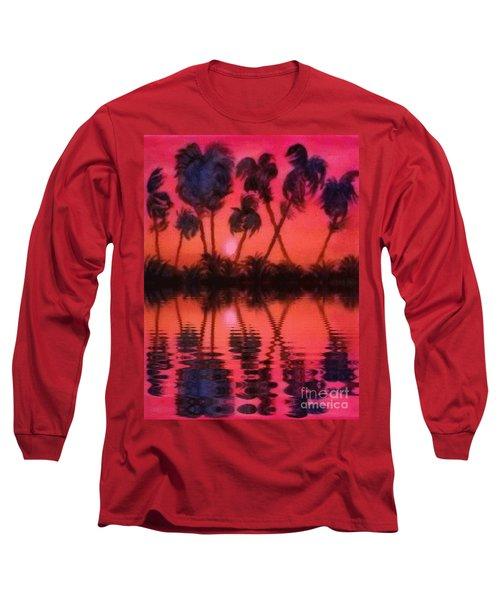 Tropical Heat Wave Long Sleeve T-Shirt