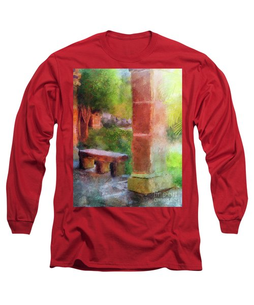 Tropical Memories Long Sleeve T-Shirt by Lois Bryan