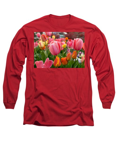 Tulip Bed Long Sleeve T-Shirt