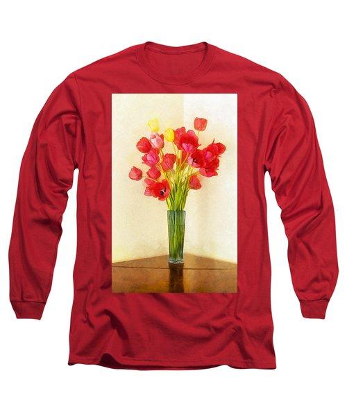 Tulip Bouquet Long Sleeve T-Shirt
