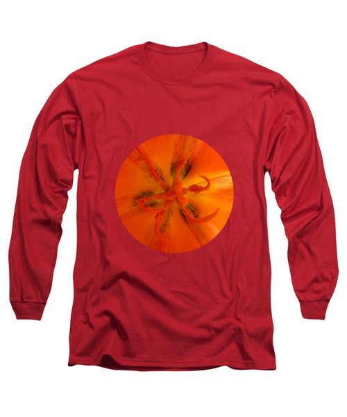 Tulip Center By V.kelly Long Sleeve T-Shirt