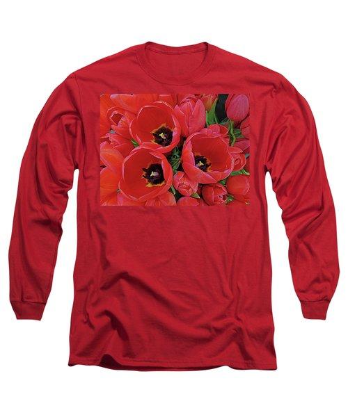 Tulip Parade Long Sleeve T-Shirt