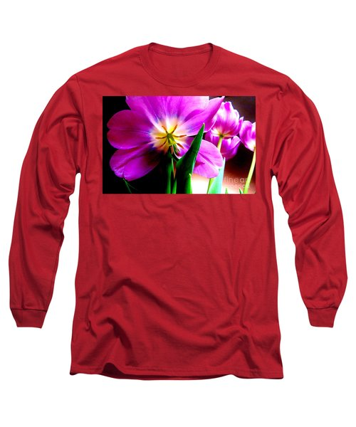 Tulip Time Long Sleeve T-Shirt by Tim Townsend