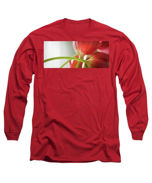 Tulips In The Morning Long Sleeve T-Shirt by Theresa Tahara