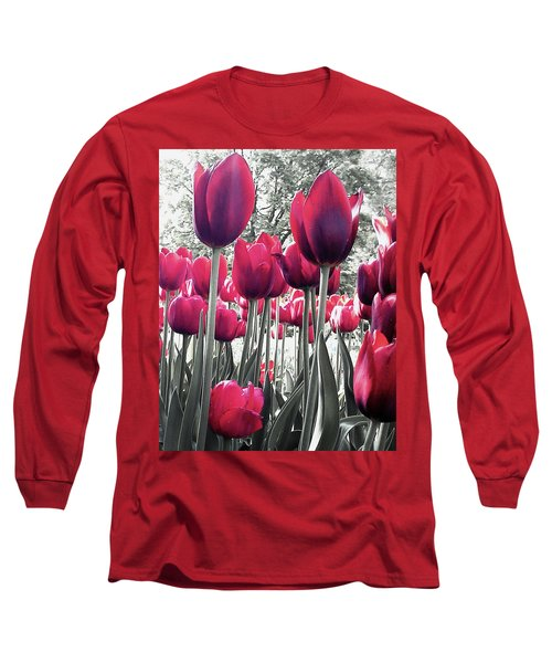 Tulips Tinted Long Sleeve T-Shirt