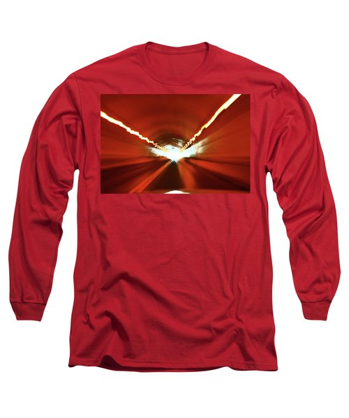 Long Sleeve T-Shirt featuring the photograph Tunnel Vision by Gray  Artus