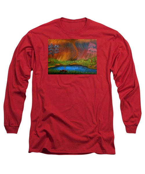 Turmoil Long Sleeve T-Shirt by Sheri Keith