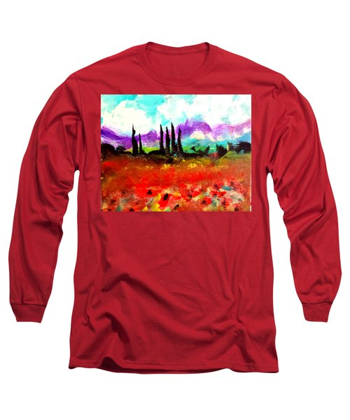Tuscany Fields Long Sleeve T-Shirt