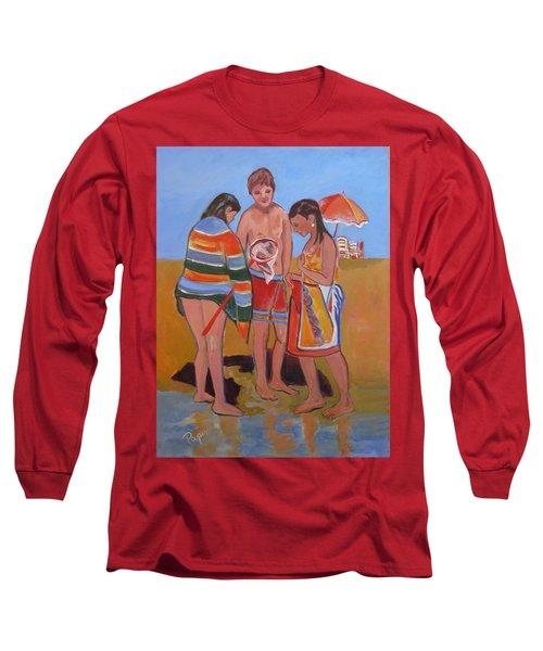 Tweens At The Beach Long Sleeve T-Shirt