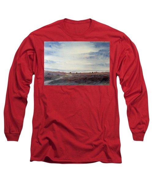 Twilight Settles On The Moors Long Sleeve T-Shirt