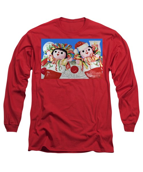 Twin Stockings Long Sleeve T-Shirt