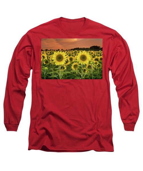 Long Sleeve T-Shirt featuring the photograph Peaceful Opposition by Bill Pevlor