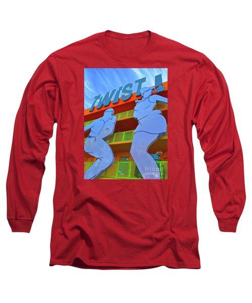 Twist Long Sleeve T-Shirt by Beth Saffer