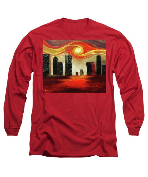 Twisted City Long Sleeve T-Shirt